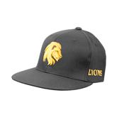 Charcoal Flexfit Flat Bill Pro Style Hat-Official Logo