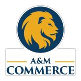 Medium Magnet-Mascot AM Commerce, 8 inches tall
