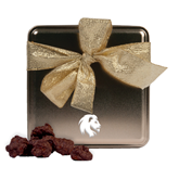 Decadent Chocolate Clusters Gold Medium Tin-Official Logo Engrave