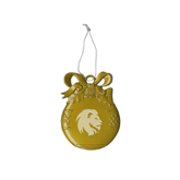 Gold Bulb Ornament-Official Logo Engrave