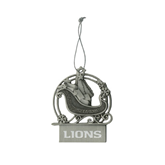 Pewter Sleigh Ornament-Lions Engrave
