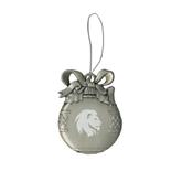 Silver Bulb Ornament-Official Logo Engrave