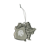Pewter Santa Ornament-Official Logo Engrave