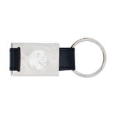 Leather Black Key Holder-Official Logo Engrave