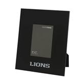 Black Metal 5 x 7 Photo Frame-Lions Engrave