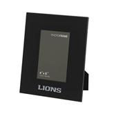 Black Metal 4 x 6 Photo Frame-Lions Engrave