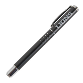 Tuscany Black Rollerball Pen-Lions Engrave