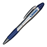 Silver/Blue Blossom Pen/Highlighter-Lions