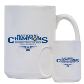 Full Color White Mug 15oz-Outdoor Track and Field Champions