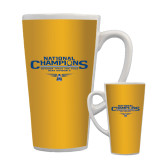 Full Color Latte Mug 17oz-Outdoor Track and Field Champions