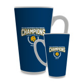 Full Color Latte Mug 17oz-2017 National Football Champions