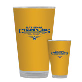 Full Color Glass 17oz-Outdoor Track and Field Champions