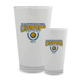 Full Color Glass 17oz-2017 National Football Champions