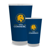 Full Color Glass 17oz-Mascot AM Commerce