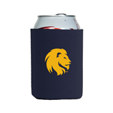 Collapsible Navy Can Holder-Official Logo