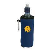 Collapsible Navy Bottle Holder-Official Logo