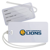 Luggage Tag-AM Commerce Lions