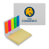 Micro Sticky Book-Mascot AM Commerce