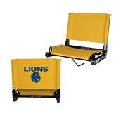 Stadium Chair Gold-Stacked Lions with Head