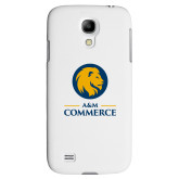 White Samsung Galaxy S4 Cover-Mascot AM Commerce