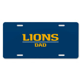 License Plate-Lions Dad