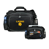 Hive Checkpoint Friendly Black Compu Case-Stacked Lions with Head