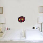 1 ft x 1 ft Fan WallSkinz-Owl Head