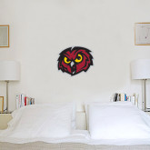 2 ft x 2 ft Fan WallSkinz-Owl Head