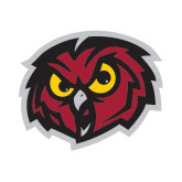 Small Decal-Owl Head, 6 inches wide