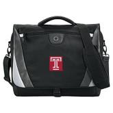 Slope Black/Grey Compu Messenger Bag-Box T