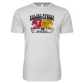 Next Level SoftStyle White T Shirt-Bad Boy Mowers Gasparilla Bowl - VS Design