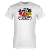 White T Shirt-Bad Boy Mowers Gasparilla Bowl - VS Design