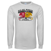 White Long Sleeve T Shirt-Bad Boy Mowers Gasparilla Bowl - VS Design