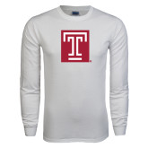White Long Sleeve T Shirt-Box T