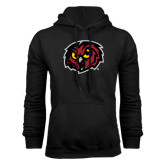 Black Fleece Hoodie-Owl Head