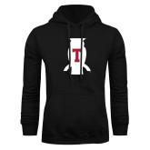 Black Fleece Hoodie-Perched Owl T