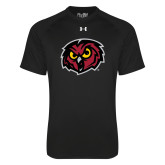 Under Armour Black Tech Tee-Owl Head