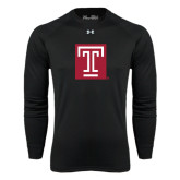 Under Armour Black Long Sleeve Tech Tee-Box T