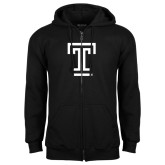 Black Fleece Full Zip Hood-Knockout T