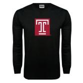 Black Long Sleeve TShirt-Box T