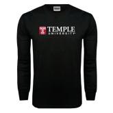 Black Long Sleeve TShirt-University Mark