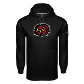 Under Armour Black Performance Sweats Team Hood-Owl Head