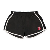 Ladies Black/White Team Short-Box T