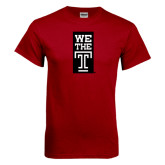 Cardinal T Shirt-We The T Vertical