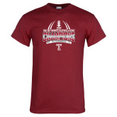 Cardinal T Shirt-Bad Boy Mowers Gasparilla Bowl Champions - Gradient