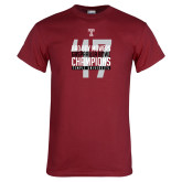 Cardinal T Shirt-Bad Boy Mowers Gasparilla Bowl Champions - Year