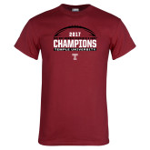 Cardinal T Shirt-Bad Boy Mowers Gasparilla Bowl Champions - Football