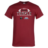 Cardinal T Shirt-Temple 2018 Independence Bowl
