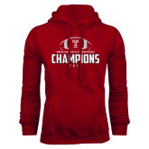 Cardinal Fleece Hood-2016 AAC Football Champions