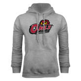 Grey Fleece Hood-Basketball